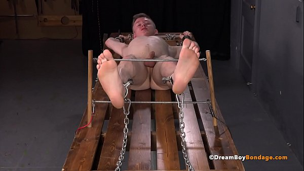 Blonde Twink Felix Maze Captured & Tortured  – DreamBoyBondage.com